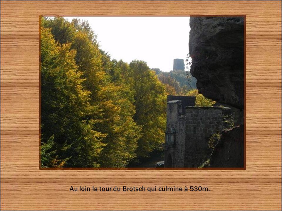 En 1583 l évêque Jean de Manderscheidt-Blankenheim aurait institué au château, la «confrérie de la Corne », une société de francs-buveurs qui réunissait tous ceux qui avaient pu vider, en un seul coup, une symbolique corne d'auroch (un bœuf sauvage depuis lors disparu) contenant quatre litres de vin...