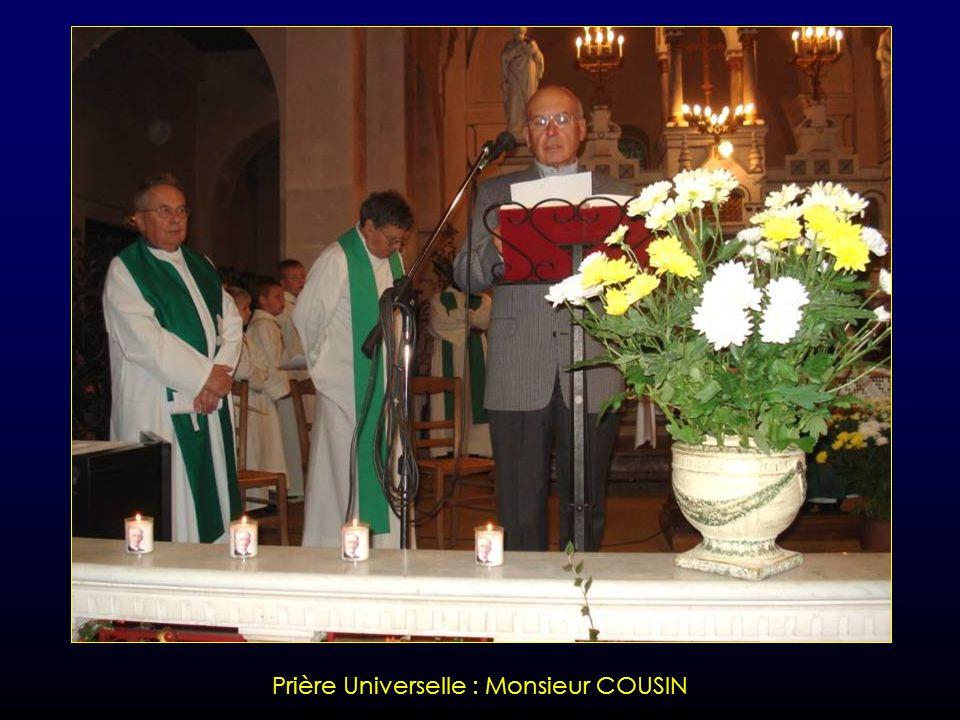 Prière Universelle : Sœur ELISABETH
