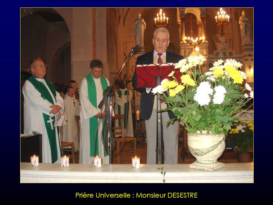 Prière Universelle : Madame GRUET