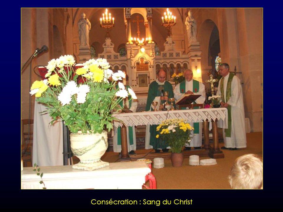 Consécration : Corps du Christ