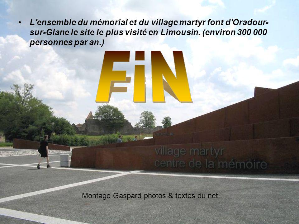 Après la guerre, le général de Gaulle décida que le village ne serait pas reconstruit, mais deviendrait un mémorial à la douleur de la France sous l'O