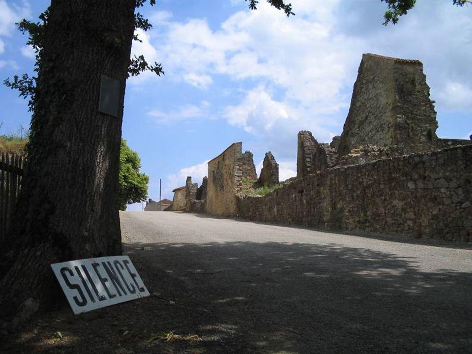 Le matin du 10 juin 1944, des chenillettes chargées de soldats allemands s'arrêtent à Oradour-sur-Glane. Cette bourgade paisible, proche de Limoges, c