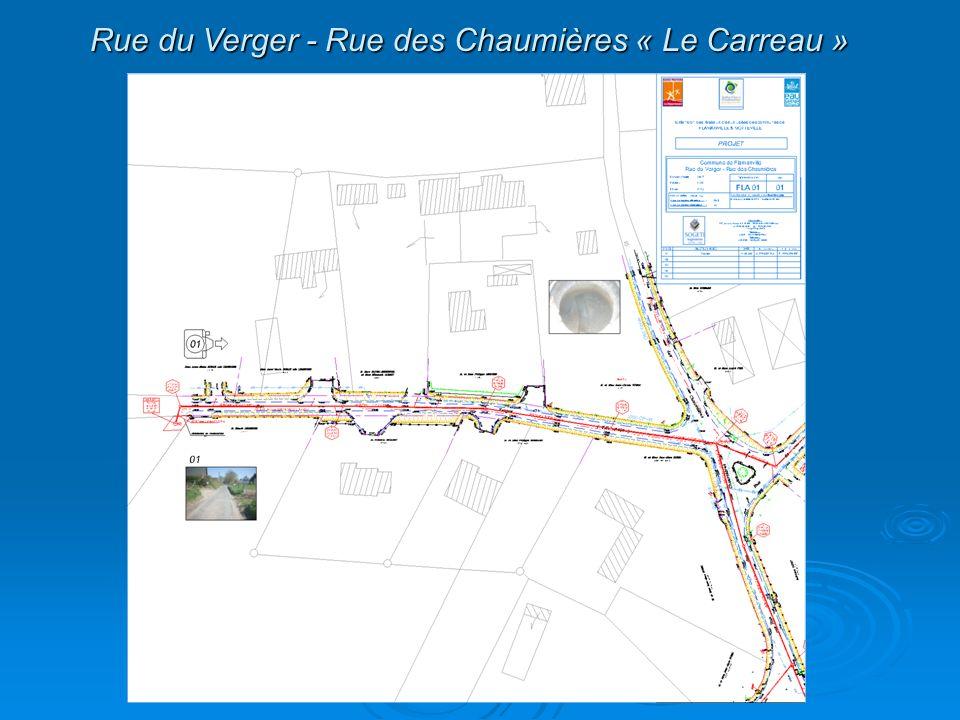 Rue du Verger - Rue des Chaumières « Le Carreau »