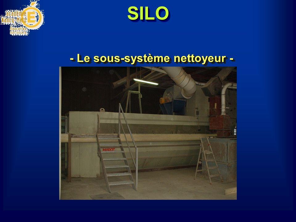SILOSILO - Le sous-système nettoyeur -
