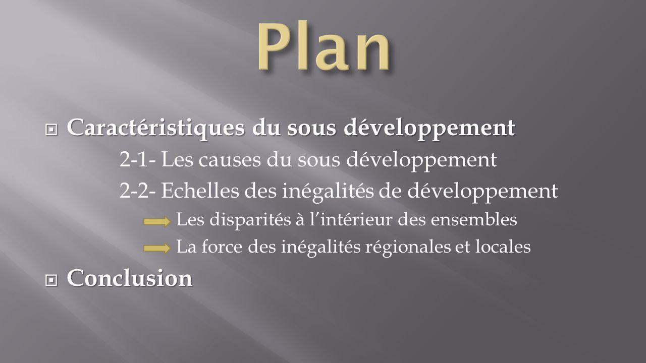Le développement est un phénomène très récent apparu à partir du 18e siècle lors de la révolution industrielle.