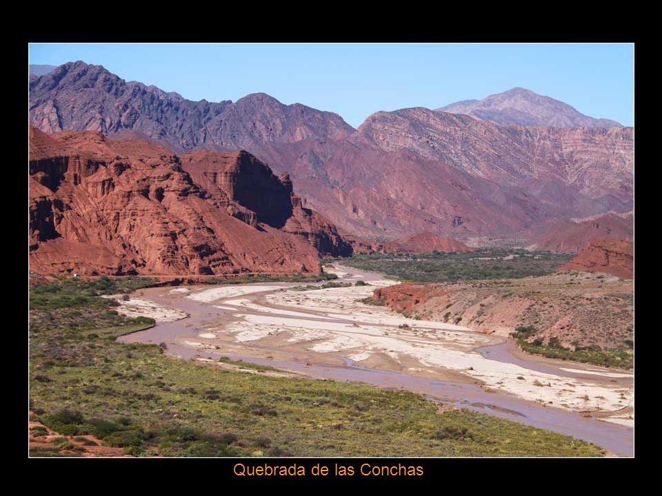 Ruines de la forteresse précolombienne de Quilmes