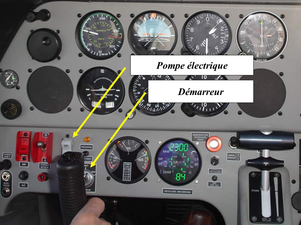 C.E.D Compact Engine Display Eclairage + RAZ CED