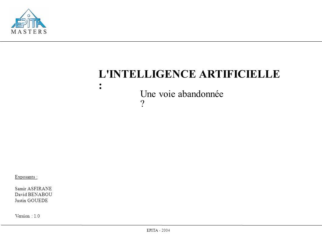 Sommaire 1.Introduction 2. Qu est ce que l IA . 3.