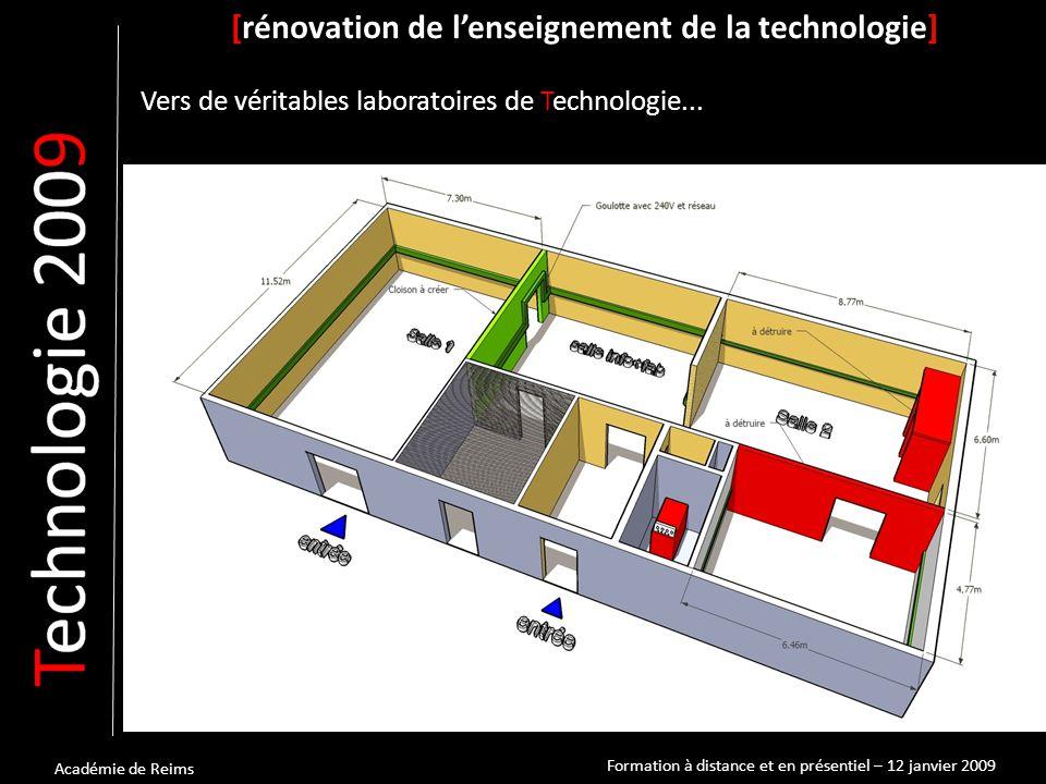 [rénovation de l'enseignement de la technologie] Vers de véritables laboratoires de Technologie...