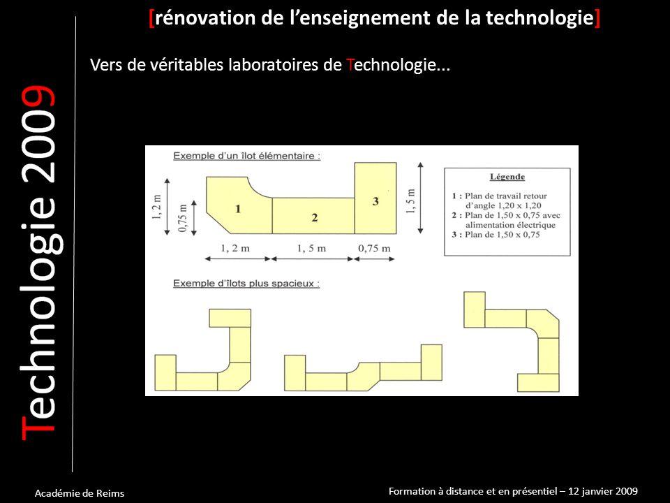 Académie de Reims [rénovation de l'enseignement de la technologie] Vers de véritables laboratoires de Technologie...