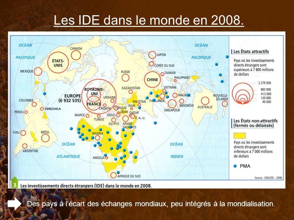 L'IDH dans le monde en 2008.