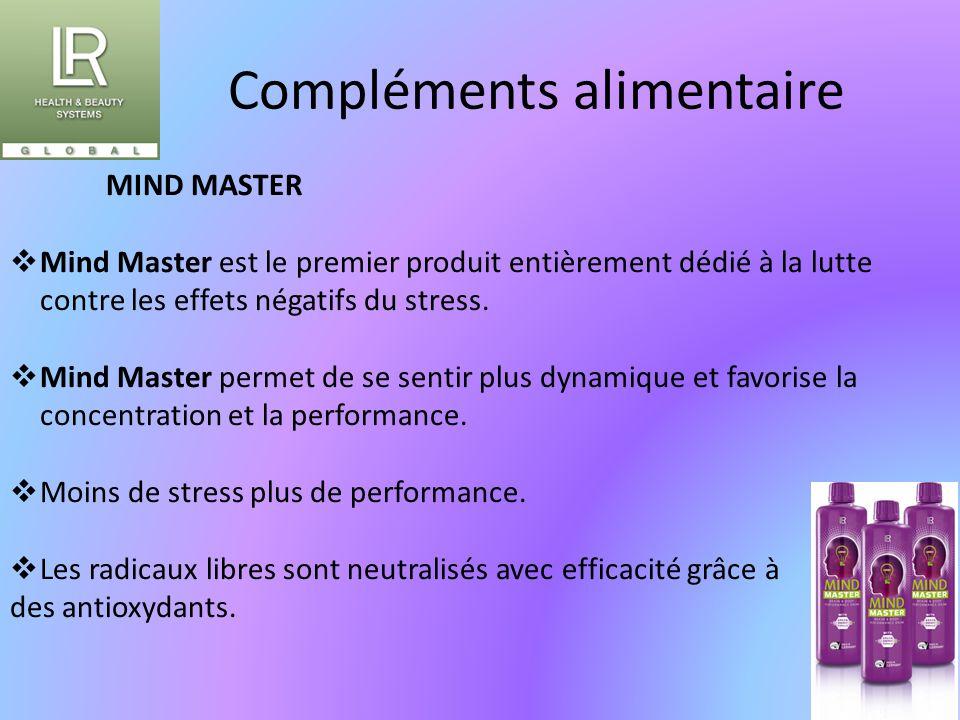 Compléments alimentaire MIND MASTER  Mind Master est le premier produit entièrement dédié à la lutte contre les effets négatifs du stress.  Mind Mas