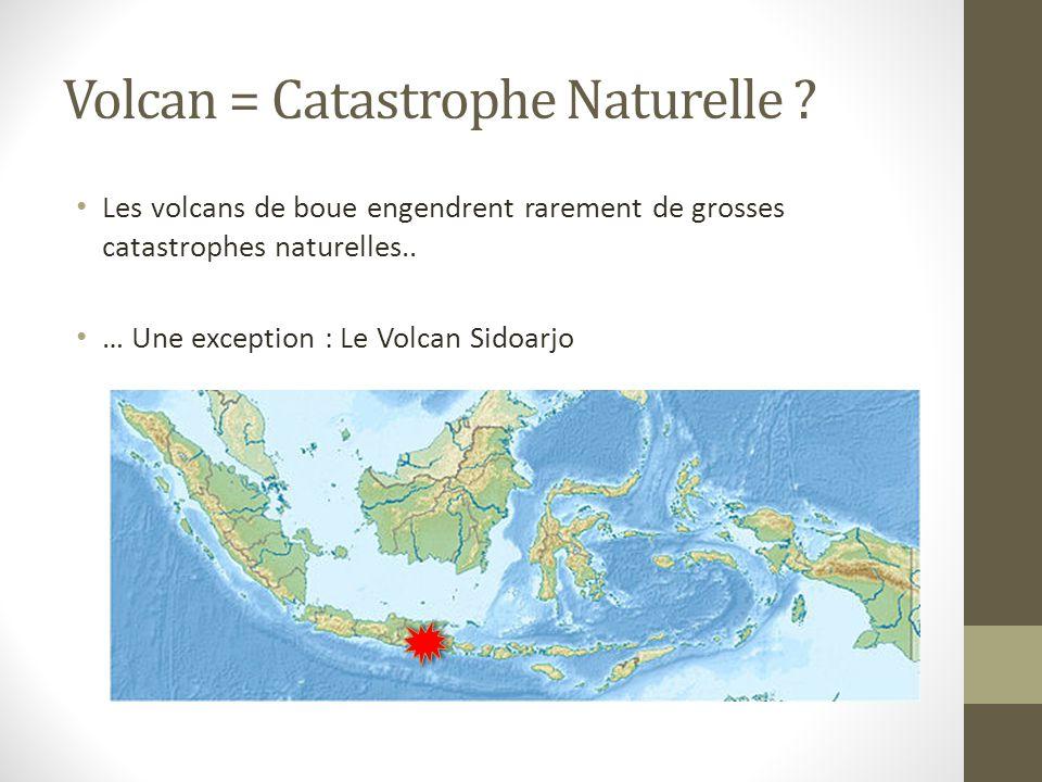 Volcan = Catastrophe Naturelle .