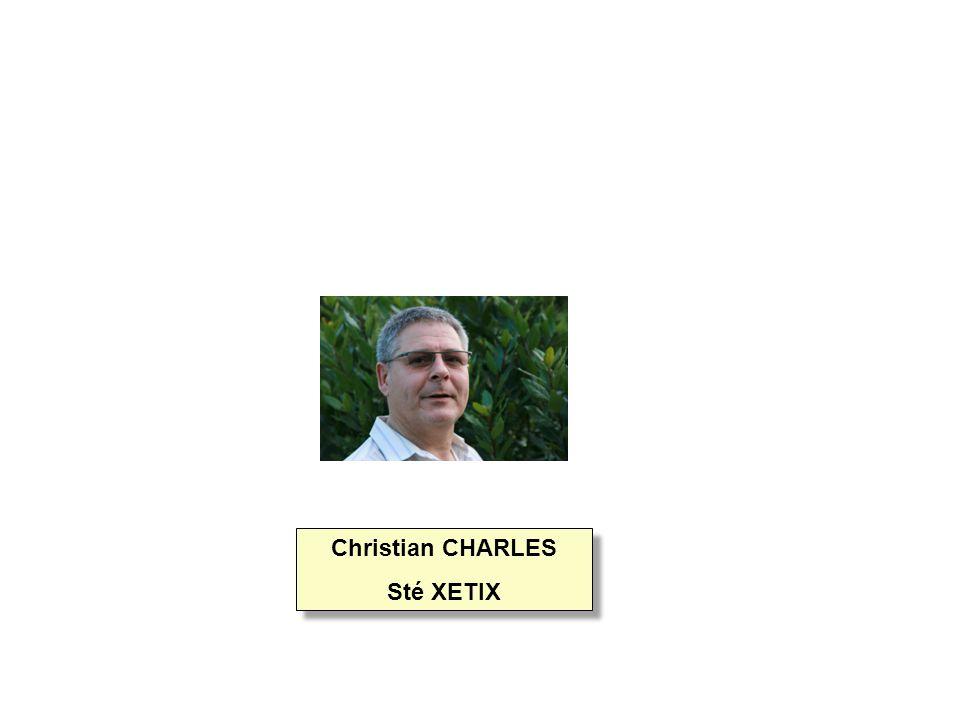 Christian CHARLES Sté XETIX Christian CHARLES Sté XETIX