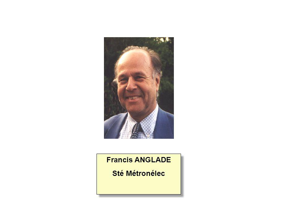 Francis ANGLADE Sté Métronélec Francis ANGLADE Sté Métronélec