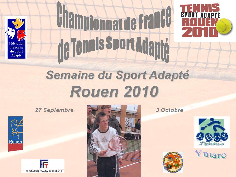 Semaine du Sport Adapté Rouen 2010 27 Septembre3 Octobre