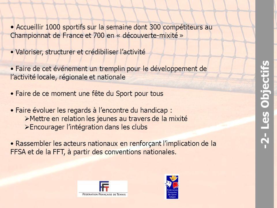 -3- Programme de la manifestation A partir de l'événement sportif, il nous semble très intéressant d'agir également sur la thématique « sport – handicap – mixité ».
