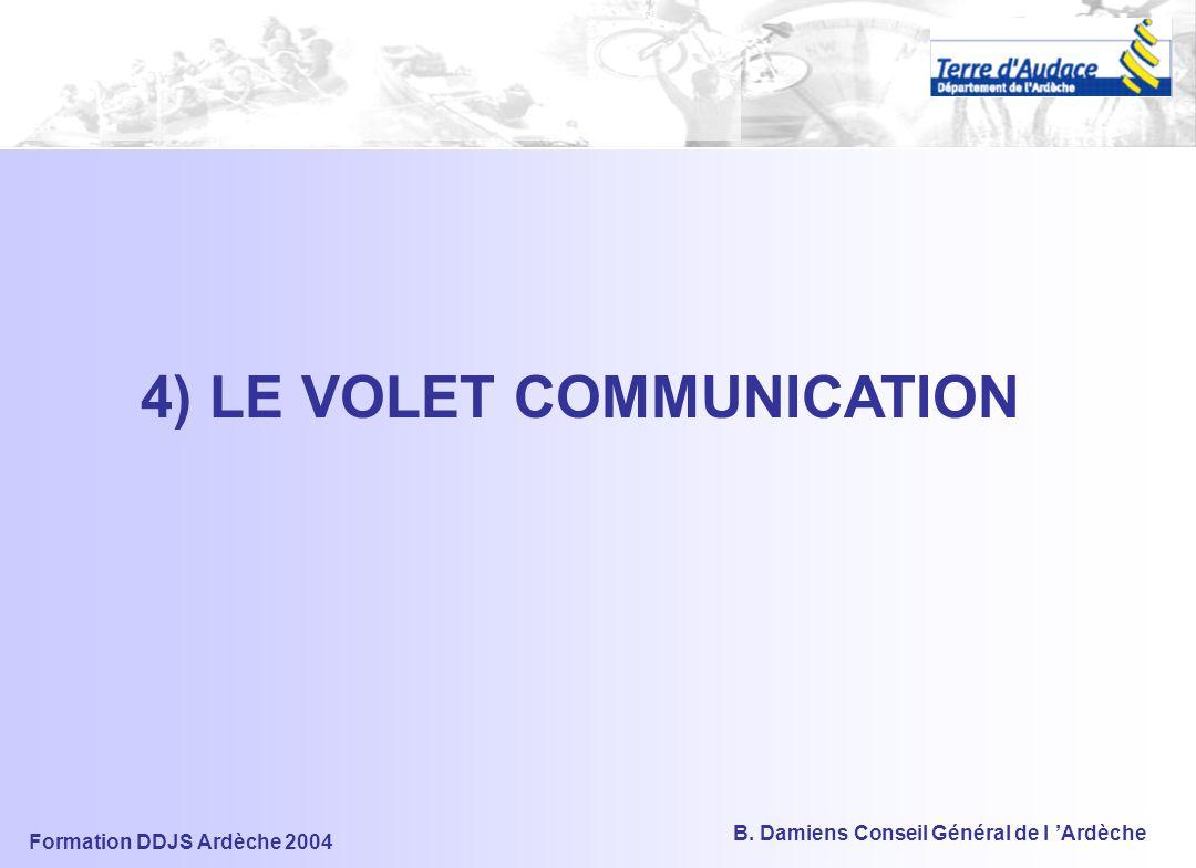 Formation DDJS Ardèche 2004 B. Damiens Conseil Général de l 'Ardèche Croiser – illustration : confronter aux enjeux environnementaux Objectifs –Défini