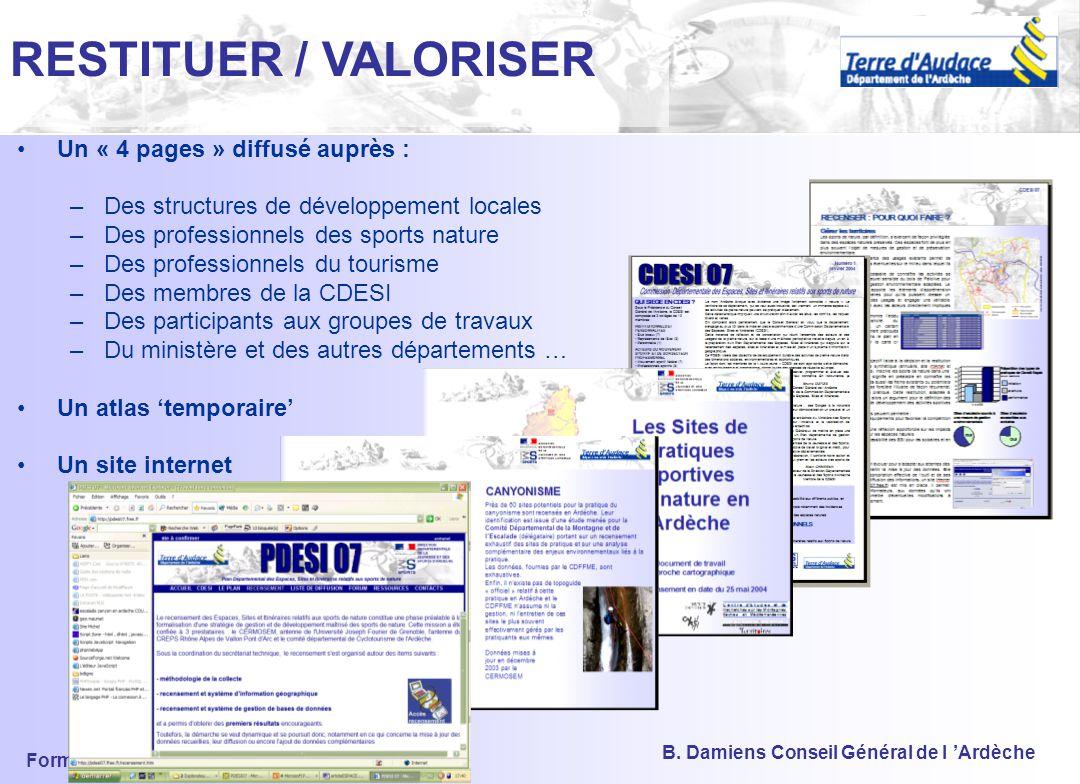 Formation DDJS Ardèche 2004 B. Damiens Conseil Général de l 'Ardèche 4) LE VOLET COMMUNICATION