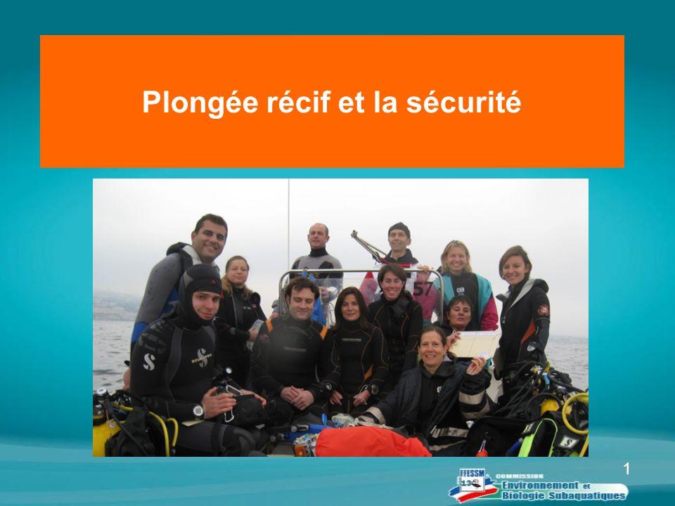 1 Plongée récif et la sécurité