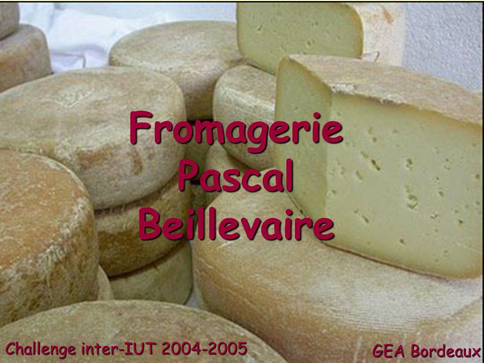 Fromagerie Pascal Beillevaire Challenge inter-IUT 2004-2005 GEA Bordeaux