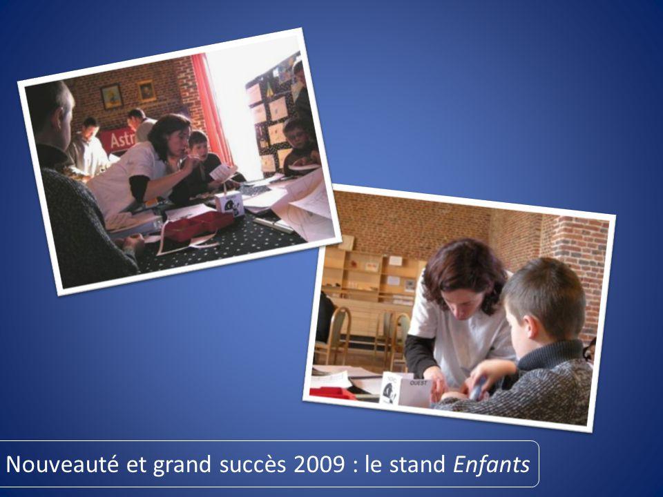 Nouveauté et grand succès 2009 : le stand Enfants
