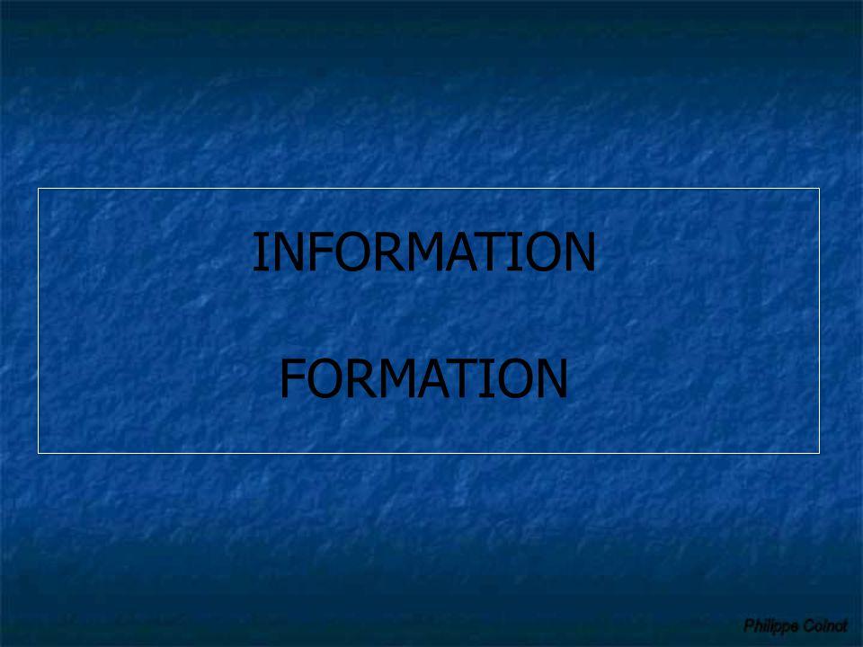 Information et formation… Des élèves : Education aux risques par l'intermédiaire des enseignants afin d'obtenir : La mémorisation et l'observation des conduites à tenir pour préserver leur vie Une meilleure prise en compte du risque majeur, à intégrer dans leur vie de futur citoyen Des parents : Informés ou associés Ne pas venir chercher les enfants à l'école Recevoir avec prudence les informations n'émanant pas des autorités.