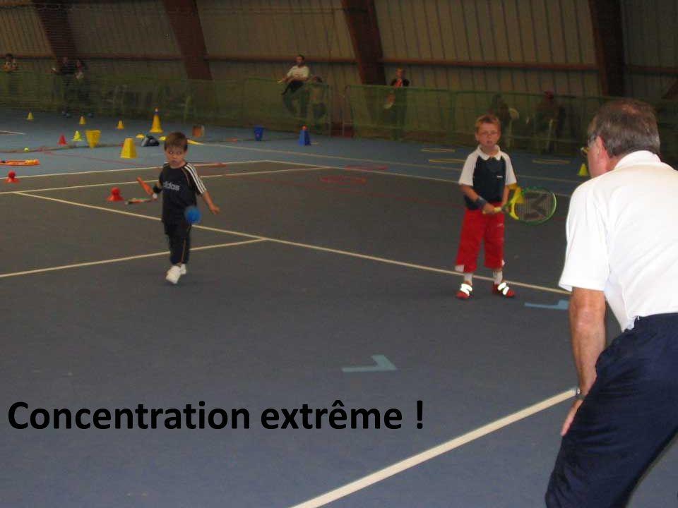 Concentration extrême !