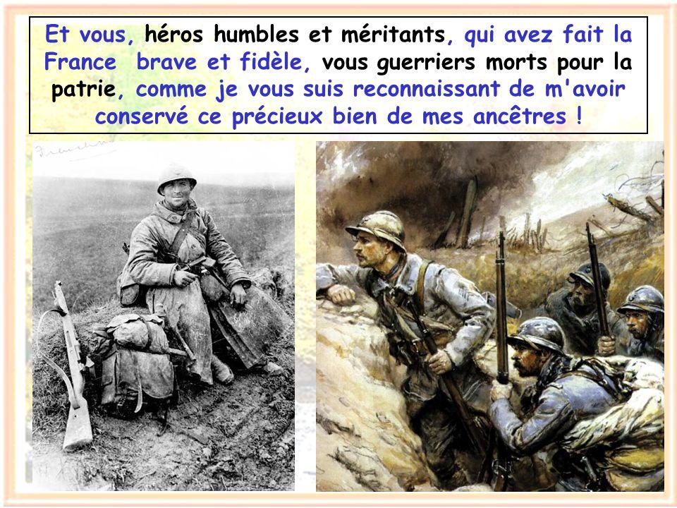 Ainsi, bien au-delà de nos frontières, des hommes de France sont célèbres : philosophes, écrivains, poètes, artistes, savants. Pascal, Molière, Vigny,