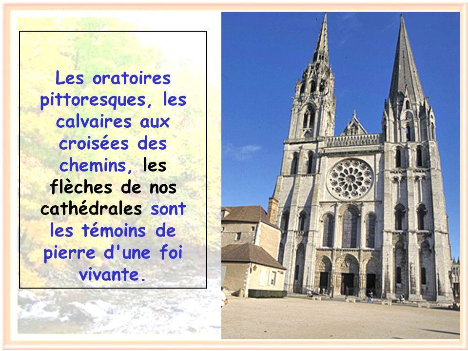 Et toi mon ami, qui es aussi comme moi une créature de Dieu, ne vois-tu pas qu'ici en France, tu es en terre chrétienne ?