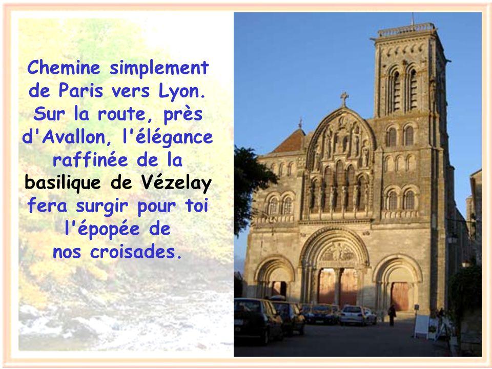 Viens voir, étranger, la beauté des paysages de France, la splendeur des monuments édifiés par mes aïeux. Va te reposer dans le vert marais poitevin,