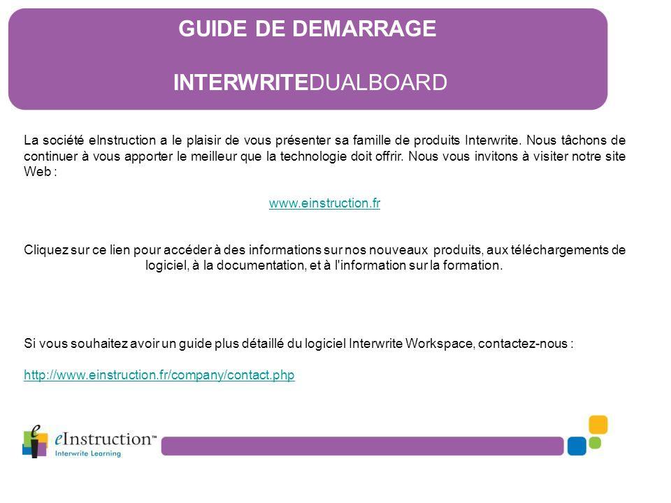 16) Le logiciel Interwrite Workspace 16.5) Le Mode Leçon A) Quelques outils d'annotation -A1 : Outil Stylo, -A2 : Outil Reconnaissance de texte, - A3 : Outil Ligne, - A4 : Outil Reconnaissance de formes.