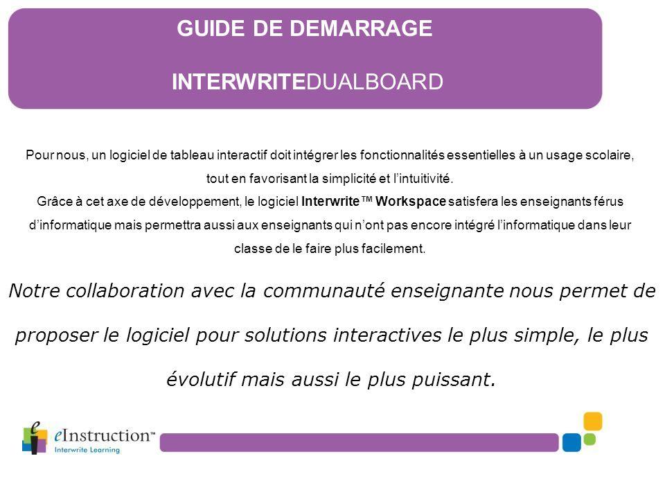 Pour nous, un logiciel de tableau interactif doit intégrer les fonctionnalités essentielles à un usage scolaire, tout en favorisant la simplicité et l