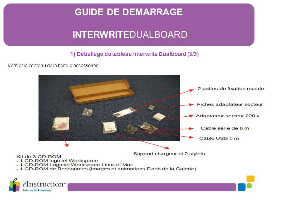 16) Le logiciel Interwrite Workspace 16.5) Le Mode Leçon F) Le mode multi-utilisateurs Pour utiliser le tableau avec 2 stylos simultanément, cliquez sur l'icône « Multi-utilisateurs », puis faîtes glisser l'icône du tableau Dualboard dans la fenêtre multi-utilisateurs.