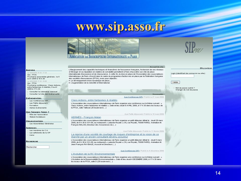14 www.sip.asso.fr