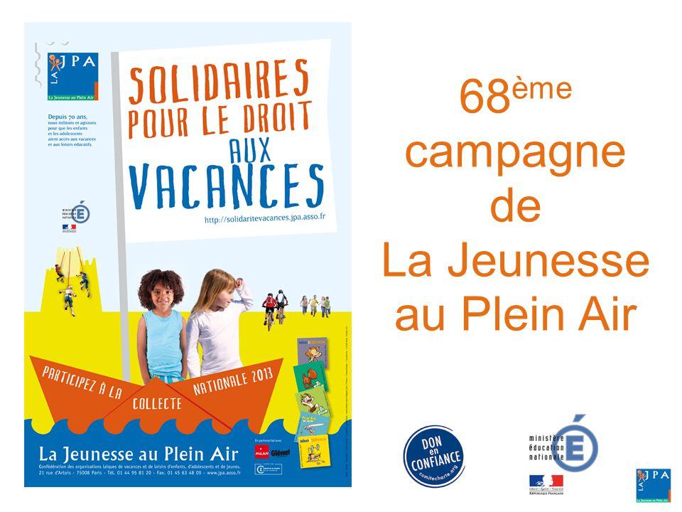 68 ème campagne de La Jeunesse au Plein Air