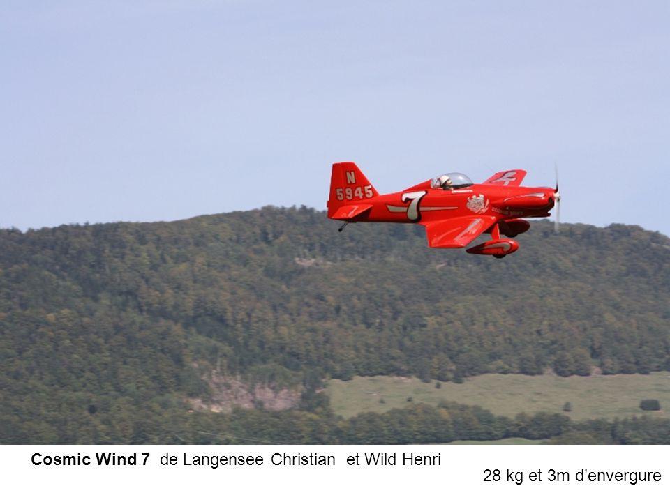 Cosmic Wind 7 de Langensee Christian et Wild Henri 28 kg et 3m d'envergure