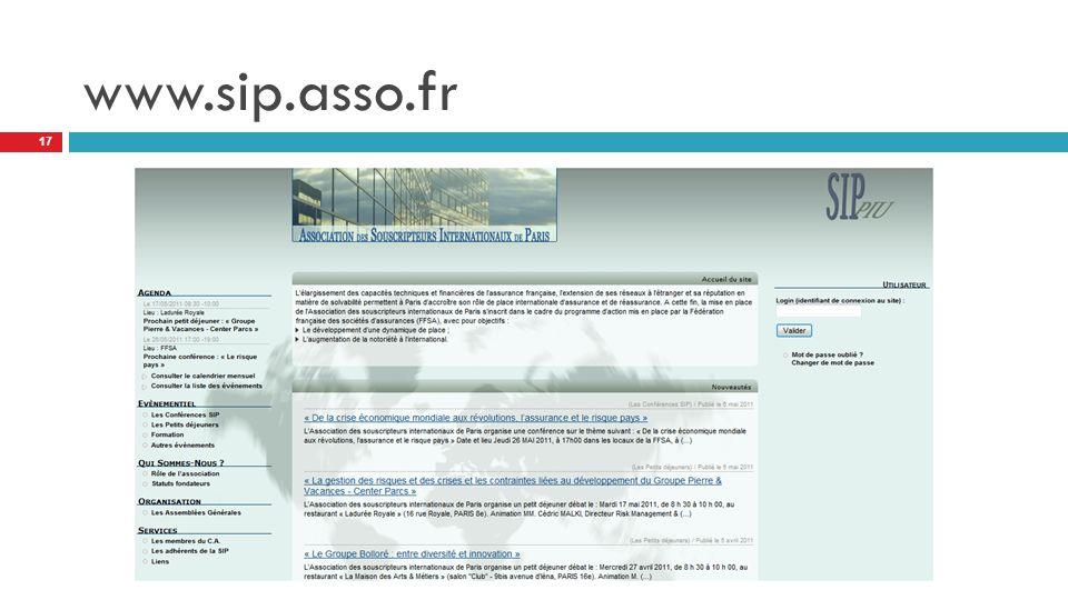 www.sip.asso.fr 17