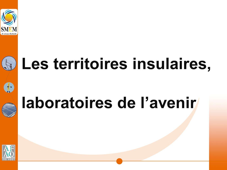 Les territoires insulaires, laboratoires de l'avenir