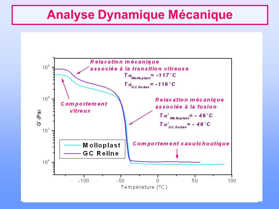 Conclusions - Perspectives Importance des relations Structure Physique/ Propriétés Mécaniques Connaître le comportement mécanique dans le domaine de température d'utilisation Apprécier et prévoir le vieillissement physique Cahier des charges du biomatériau le mieux adapté aux conditions cliniques