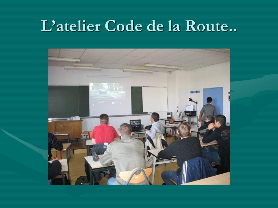 L'atelier Code de la Route..
