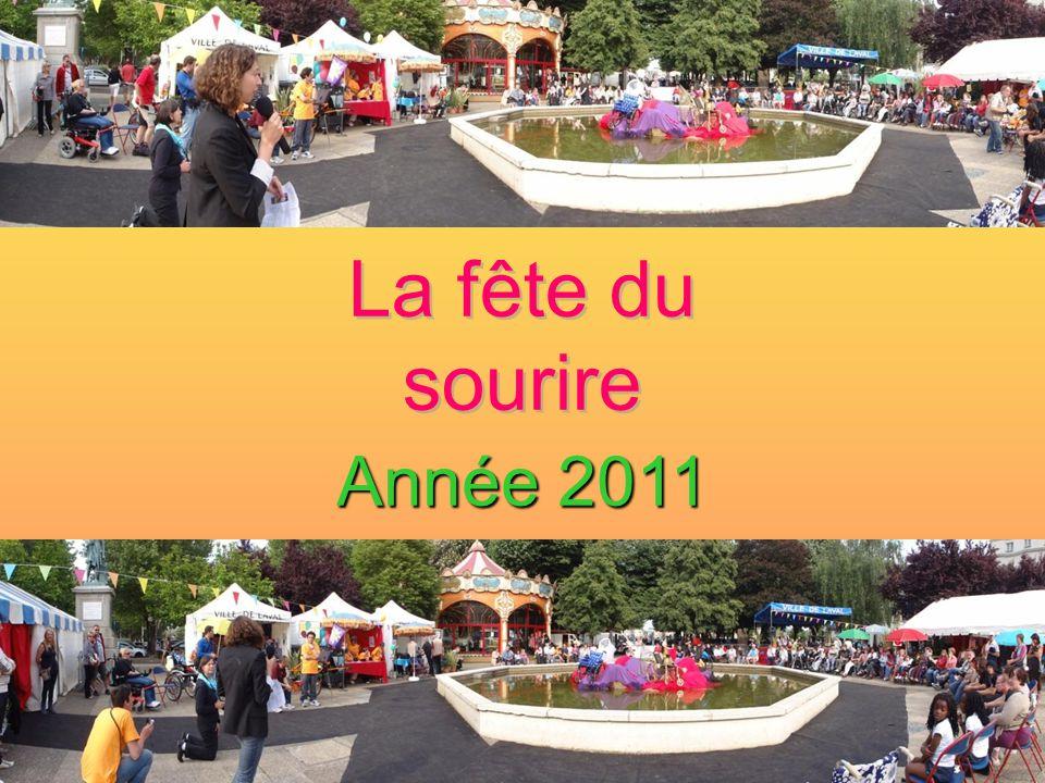 La fête du sourire Année 2011