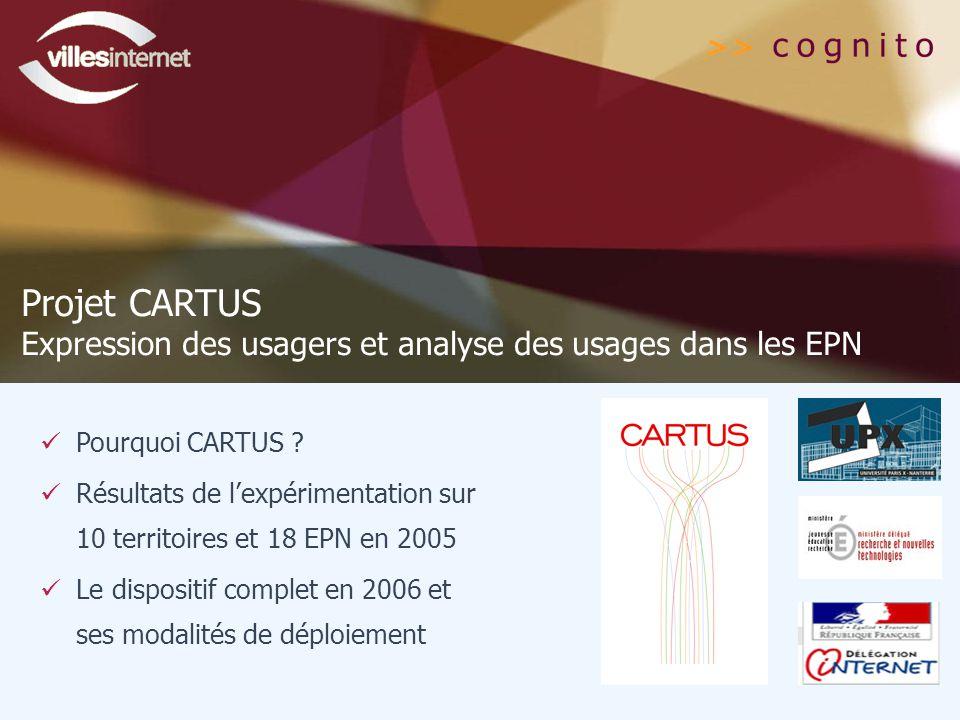 Pourquoi CARTUS .