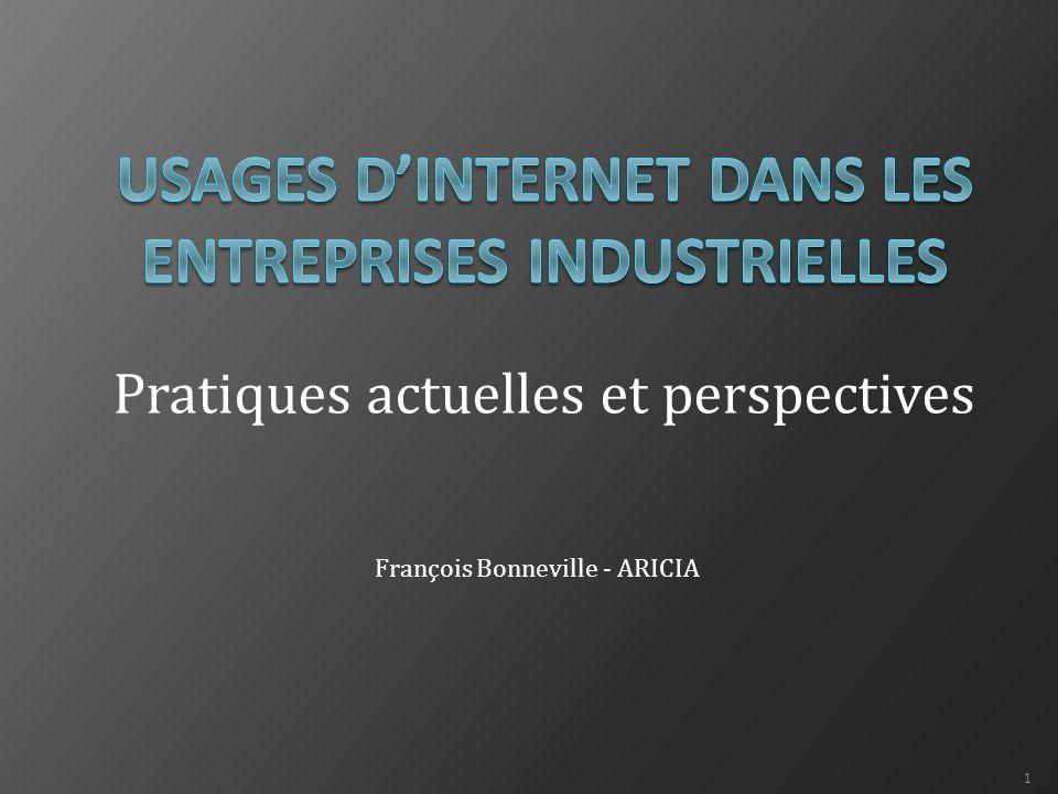 Pratiques actuelles et perspectives François Bonneville - ARICIA 1