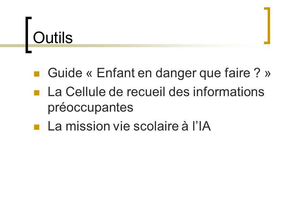 Outils Guide « Enfant en danger que faire .