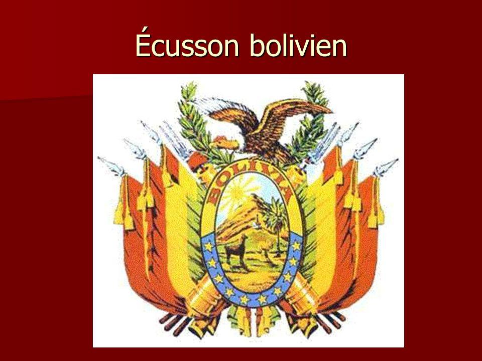 Écusson bolivien