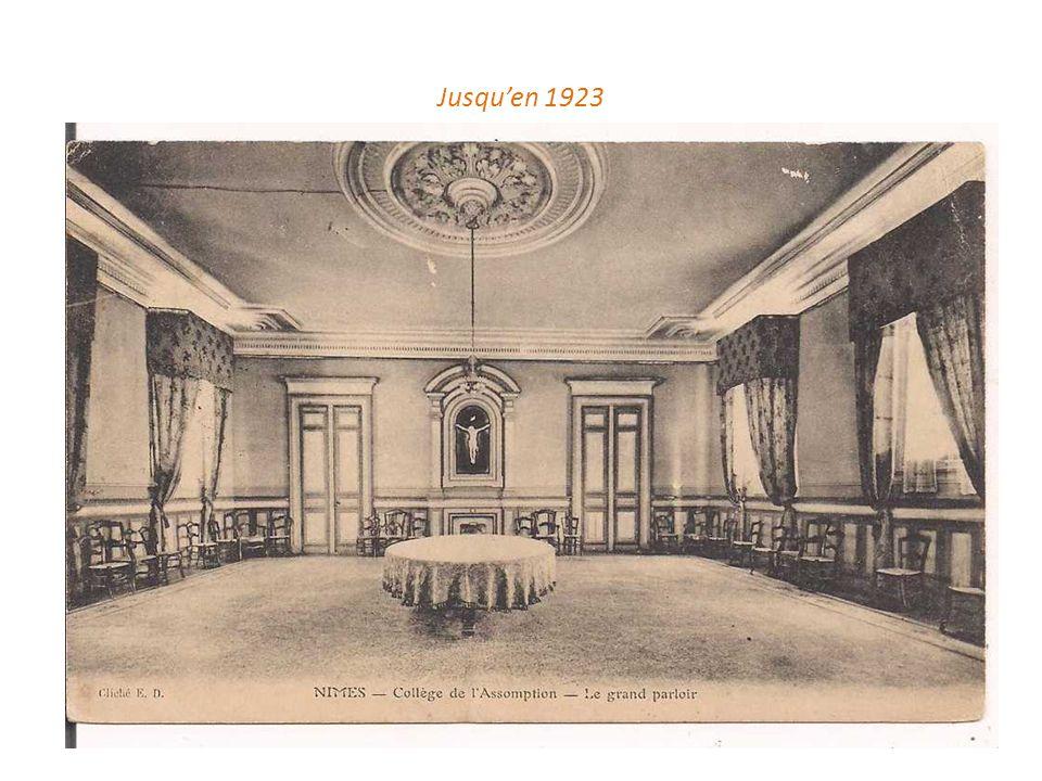 Jusqu'en 1923