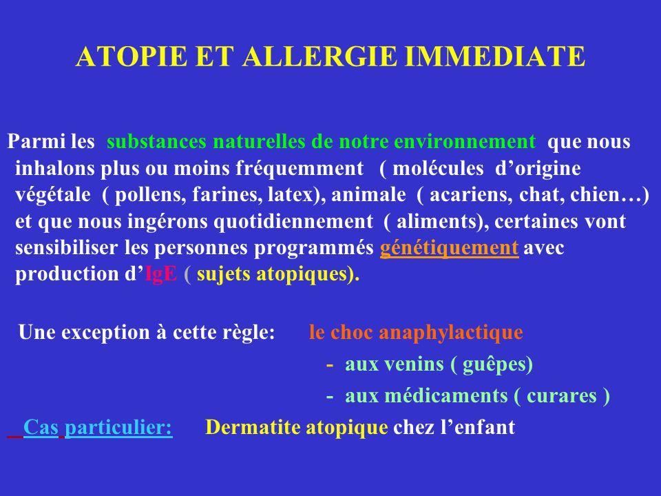 LES MALADIES ALLERGIQUES ALIMENTAIRES Sources: trophallergènes L'allergie alimentaire se définit comme l'ensemble des manifestations cliniques liées à