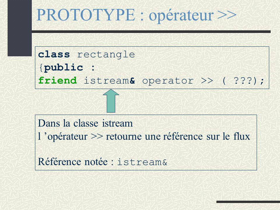 CLASSE AMIE class X { public : friend class Y; private : }; EFFET Toutes les méthodes de la classe Y peuvent accéder à la section private de la classe X C 'est moi : classe X qui définit qui sont mes ami(e)s, et donc qui ouvre l 'accès de ma section private à l 'extérieur.