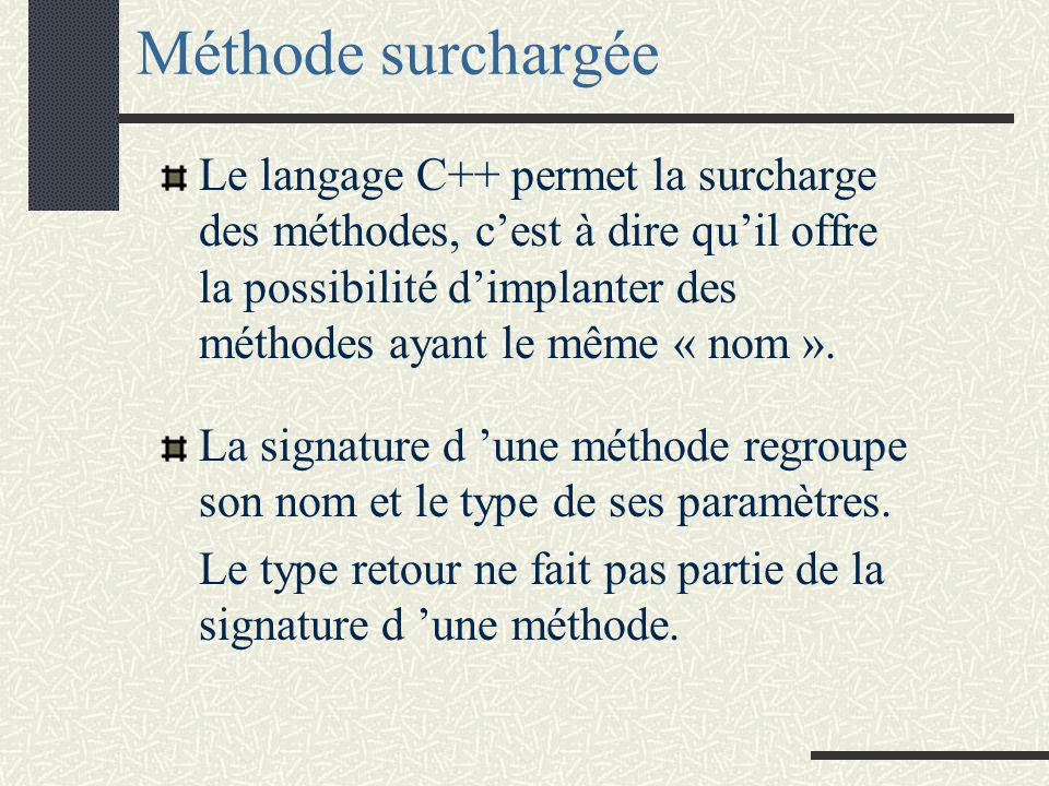 Leçon 2:Surcharge des opérateurs La surcharge Intérêt de la surcharge Règles de surcharge Opérateurs arithmétiques (classe vecteur) Opérateurs de redirection de flux Fonctions et classes amies